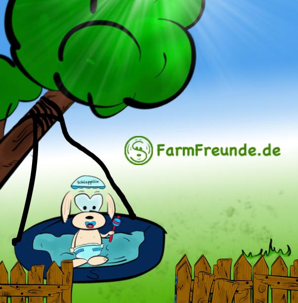 FarmFreunde.de Baby Nestschaukel