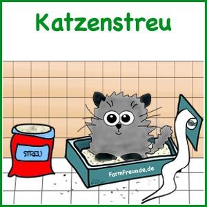 Katzenbedarf - Katzenstreu