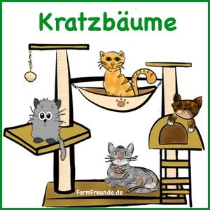 Katzenbedarf - Katzenausstattung - Kratzbaum Bestseller