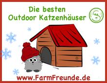 Katzenhaus Outdoor Farmfreunde.de