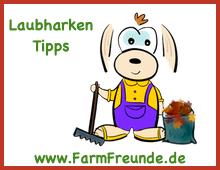 Gartenkarre Laubsammler - Farmfreunde.de